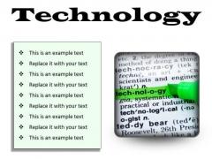 Technology Industrial PowerPoint Presentation Slides S