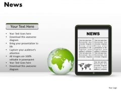 Technology News PowerPoint Slides And Ppt Diagram Templates