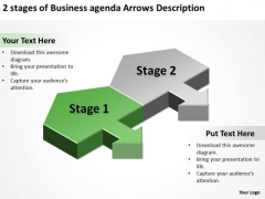Templates Download Agenda Arrows Description Bar Business Plan Sample PowerPoint Slides