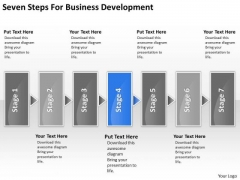 Templates Download Development Start Up Business Plan Example PowerPoint