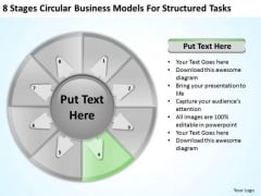 Templates Models For Structured Tasks Setting Up Business Plan PowerPoint