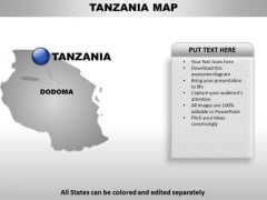 Tenzania Country PowerPoint Maps