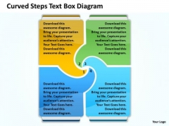 Text Box Diagram PowerPoint Templates 2010 Radial