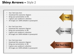Text Boxes Arrows 2 PowerPoint Slides And Ppt Diagram Templates