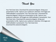 Thank You Business Contact PowerPoint Slides Diagrams Templates