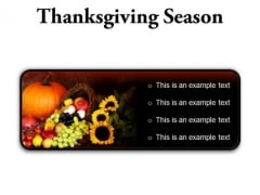 Thanksgiving Season Festival PowerPoint Presentation Slides R