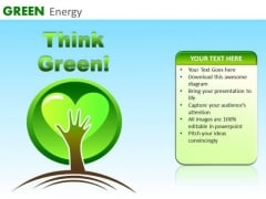 Think Green PowerPoint Ppt Templates