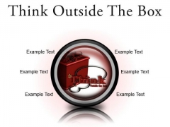 Think Outside The Box Business PowerPoint Presentation Slides Cc