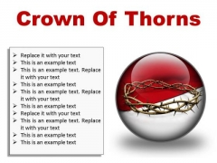 Thorns Of Crown Religion PowerPoint Presentation Slides C