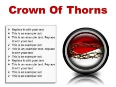 Thorns Of Crown Religion PowerPoint Presentation Slides Cc