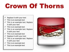 Thorns Of Crown Religion PowerPoint Presentation Slides S