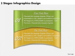 Timeline Ppt Template 2 Stages Infographics Design