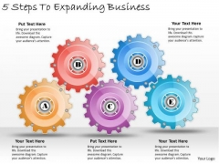 Timeline Ppt Template 5 Steps To Expanding Business
