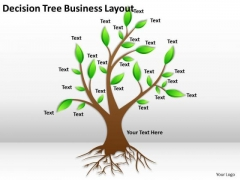Timeline Ppt Template Decision Tree Business Layout
