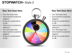Timer Stopwatch 2 PowerPoint Slides And Ppt Diagram Templates