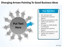 To Good New Business PowerPoint Presentation Ideas Arrow Charts And Networks Slides