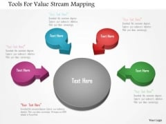 Tools For Value Stream Mapping PowerPoint Template