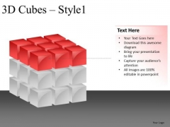 Top Layer 3d Cube PowerPoint Slides And Ppt Diagram Templates