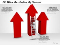 Total Marketing Concepts 3d Man Ladder Of Success Business Statement