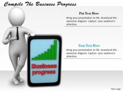 Total Marketing Concepts Compile The Business Progress Statement
