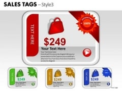 Trade Sales Tags 3 PowerPoint Slides And Ppt Diagram Templates