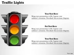 Traffic Lights PowerPoint Presentation Template