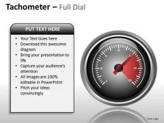 Travel Tachometer Full Dial PowerPoint Slides And Ppt Diagram Templates