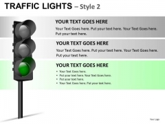 Travel Urban Traffic Light PowerPoint Slides And Ppt Diagram Templates