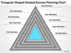 Triangular Shaped Stacked Success Planning Chart Ppt 1 Business Programs PowerPoint Templates