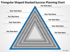 Triangular Shaped Stacked Success Planning Chart Ppt 9 Download Business Plans PowerPoint Slides