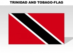 Trinidad And Tobago Country PowerPoint Flags