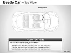 Trip Red Beetle Car PowerPoint Slides And Ppt Diagram Templates