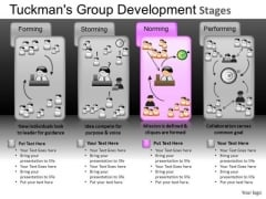 Tuckmans Group Development Stages PowerPoint Process Presentations