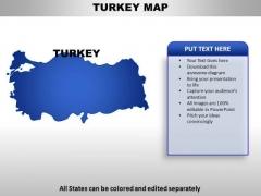 Turkey PowerPoint Maps