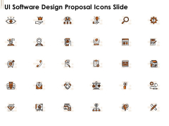 UI Software Design Proposal Icons Slide Ppt Styles Designs PDF