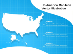 US America Map Icon Vector Illustration Ppt PowerPoint Presentation Infographics Diagrams PDF