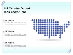 US Country Dotted Map Vector Icon Ppt PowerPoint Presentation Icon Backgrounds PDF