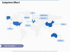 US Economic Crisis Subprime Effect Ppt Inspiration Topics PDF