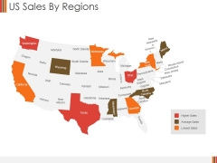 US Sales By Regions Ppt PowerPoint Presentation Gallery Designs