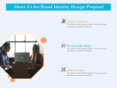Ultimate Brand Creation Corporate Identity About Us For Brand Identity Design Proposal Ppt Model Inspiration PDF