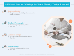 Ultimate Brand Creation Corporate Identity Additional Service Offerings For Brand Identity Design Proposal Inspiration PDF