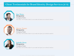 Ultimate Brand Creation Corporate Identity Client Testimonials For Brand Identity Design Services Ben Clipart PDF
