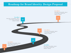 Ultimate Brand Creation Corporate Identity Roadmap For Brand Identity Design Proposal Ppt File Example Topics PDF