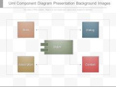 Uml Component Diagram Presentation Background Images