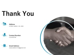 Underground Aquifer Supervision Thank You Ppt Show Example PDF