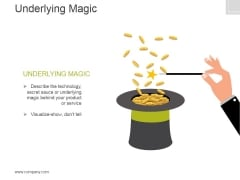 Underlying Magic Ppt PowerPoint Presentation Clipart