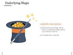 Underlying Magic Ppt PowerPoint Presentation Icon Template