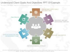 Understand Client Goals And Objectives Ppt Of Example