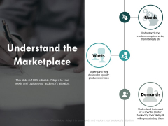 Understand The Marketplace Ppt PowerPoint Presentation Infographic Template Examples