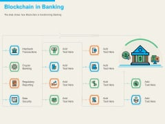 Understanding Blockchain Basics Use Cases Blockchain In Banking Ppt Slides Smartart PDF
